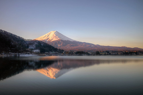 fuji morning reflections | by mariusz kluzniak