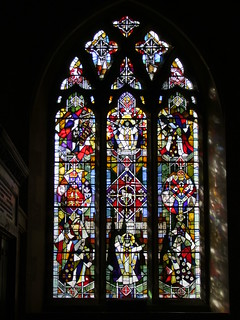 Penshurst, Kent, St John the Baptist, Becket window by 1970 by Lawrence Lee