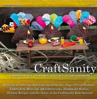 CraftSanity Magazine Issue 8   by Just Be Happy Crochet