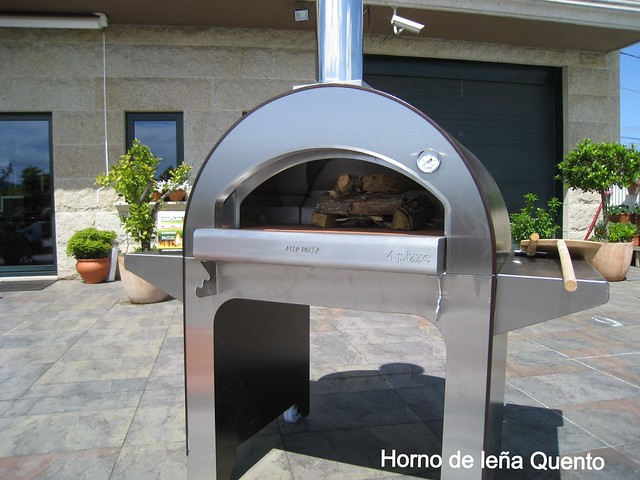 Horno Quento modelo 4 Pizzas