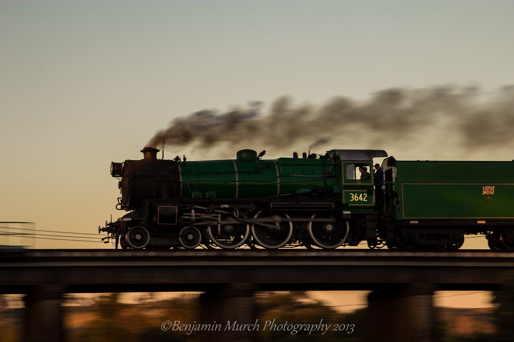 Of Steam and Speed by Benjamin Murch