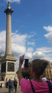 The mother of all ArtHistory Hashtags with Nelson's Column
