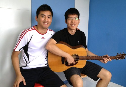 Guitar lessons Singapore Nigel