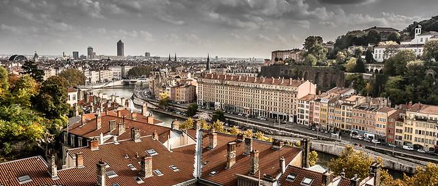 Lyon quai de Saône
