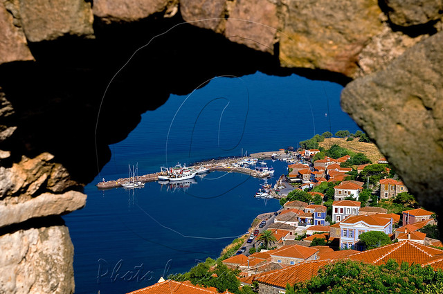 Molyvos from the caslte