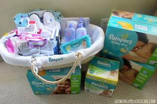 pampers gift of sleep building our basket | by RubyDW