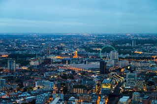 Westminster from The Shard | by Mikepaws