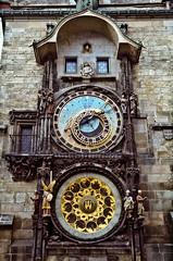 The Astronomical Clock, Prague.