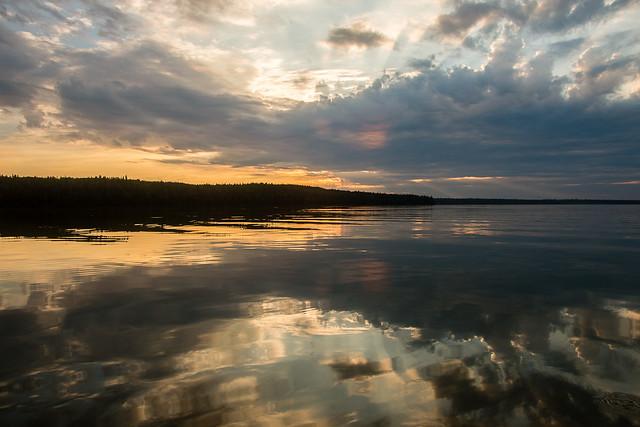 Kingsmere Lake sunset