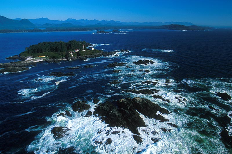 Lennard Island Lighthouse, Tofino, West Coast Vancouver Island, British Columbia