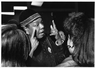 Dr. Maya Angelou Visits Wheelock College, October 1988 | by wheelockcollege