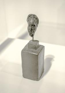 Simone de Beauvoir - Alberto Giacometti - 1946 - Bronze
