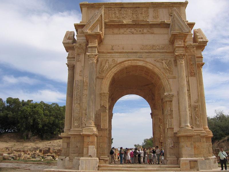 قوس النصر للإمبراطور سبتيموس سيفيروس Hayet Mohamed Flickr