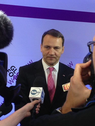 Minister Radek Sikorski's press conference | by Atlantic Council