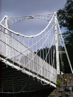 Crathie Suspension bridge