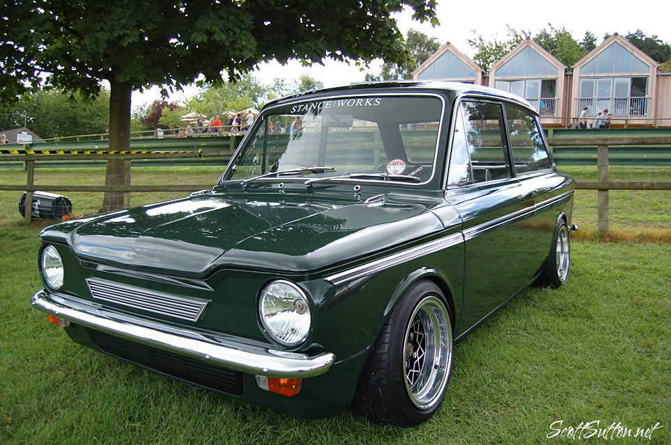 hillman imp at retro rides gathering 2013