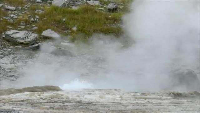 Video 06 Geiser Old Faithful Parque Nacional de Yellowstone Wyoming EEUU