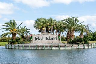 Jekyll Island Entrance