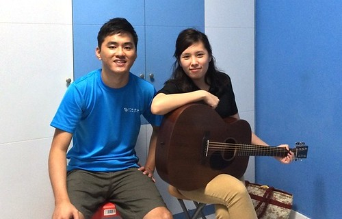 Guitar lessons Singapore Sheh Yuan