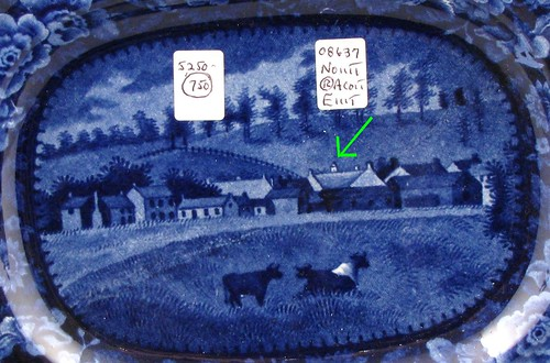 Detail, Chillicothe with cows Platter | by Christopher Busta-Peck