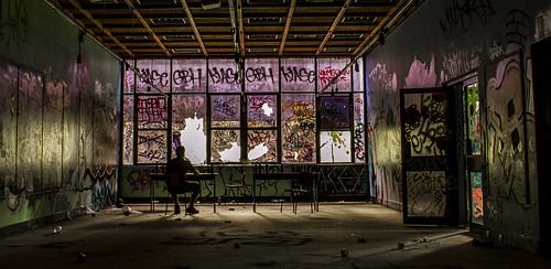 Abandoned Arts College Classroom | by darkday.