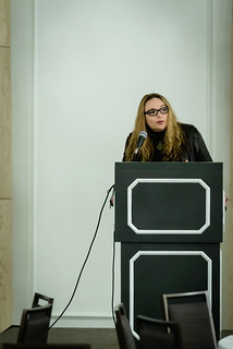 Source Boston 2014: Day 3 - Keynote - Andrea Matwyshyn | by Kevin Riggins Photography