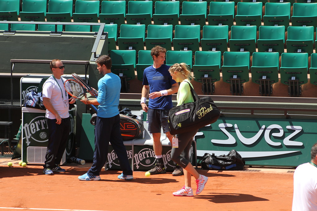 Andy Murray and Maria Sharapova