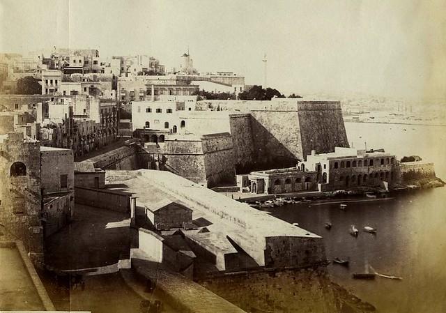 Marsamscetto, Valletta Malta 1860