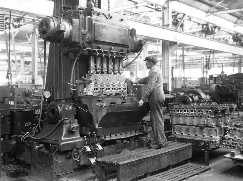 Rolls Royce Cylinders at the Elswick Works