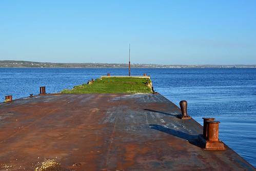 canada abandoned ferry pier nikon rust novascotia steel northsydney d7000