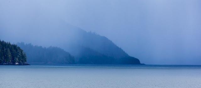 Storm moving in to SE Alaska
