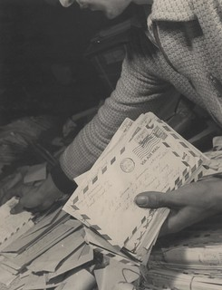 """The Letter As it is Being Sorted"" 
