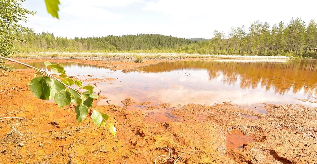 Flåt gruver - Flatebygd - Evje - Øvre slamdam 170713 (3 ...