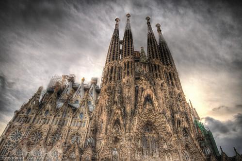 Sagrada Família HDR