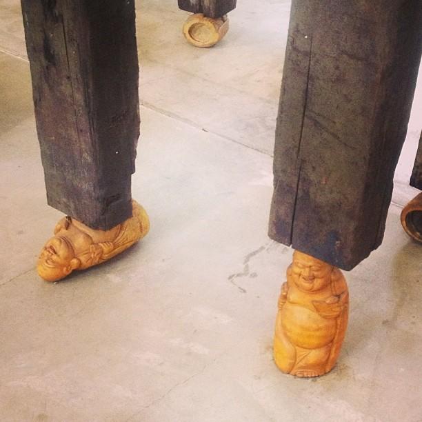 Qiu Zhijie's brilliant version of Umberto Eco's