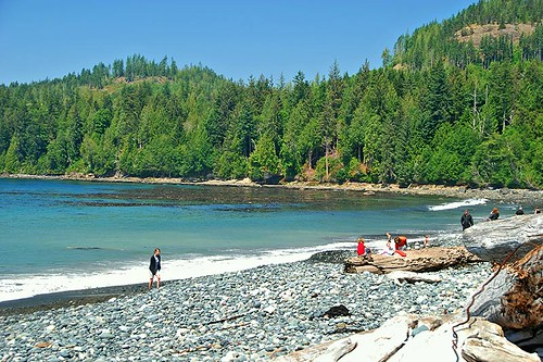 French Beach Park, South Coast Vancouver Island, British Columbia, Canada