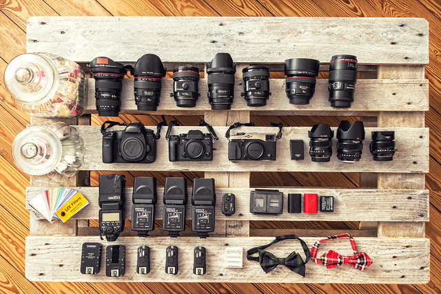 What is in my Bag - Weddingphotography