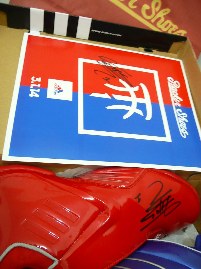 big sale 36112 09cdc ... Autographed PACKER SHOES x ADIDAS TMAC 3