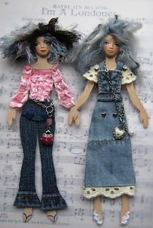 Paper Dolls Giveaway - OWOA event