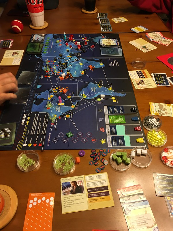 best legacy board games Pandemic Legacy