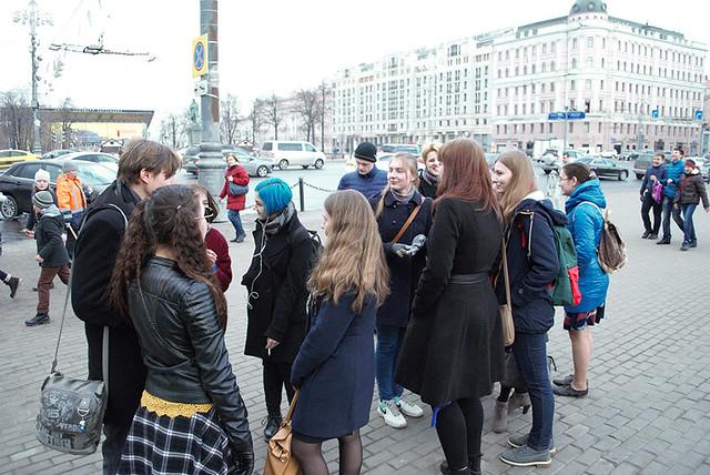 Мар 30 2016 - 16:24 - Студенты Литинститута на экскурсии в МХАТ