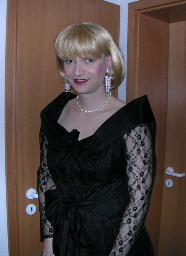 Lace Dress Me In A Nice Black Lace Dress Marie