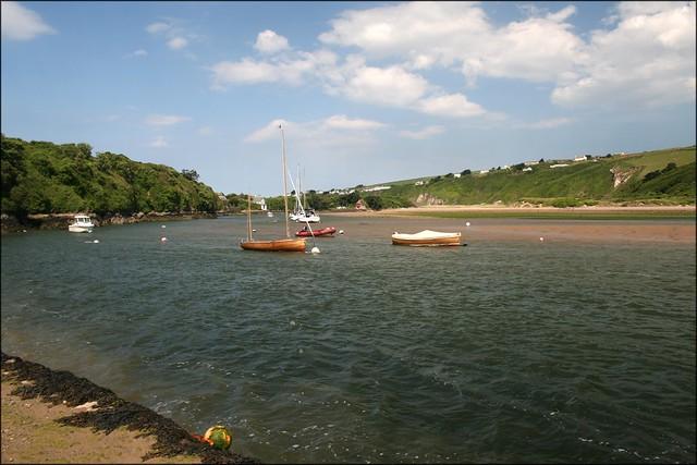The River Avon at Bantham