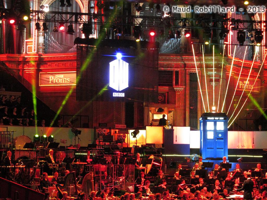 BBC DW Proms - Tardis Stairs | At Royal Albert Hall (14/07