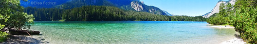 blue trees sky italy lake mountains green water landscape boat nikon trentino beuatiful