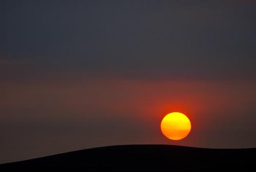 california park red summer sun color sunrise fire rising haze nikon sanramon smoke september burn eastbay forestfire d200 mtdiablo northern slope 2013 morganhillfire