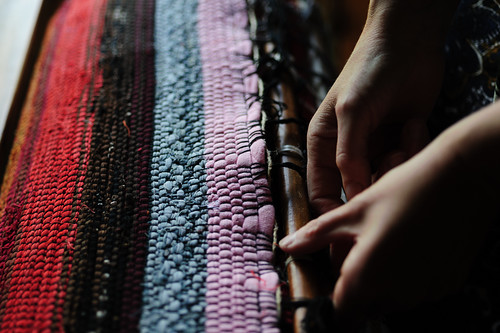 Aftercare - Rag Rug Weaving