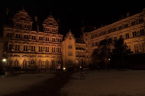 Heidelberg Schlosshof