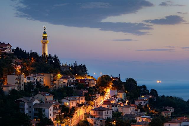 Lighthouse in Trieste - Faro della Vittoria...