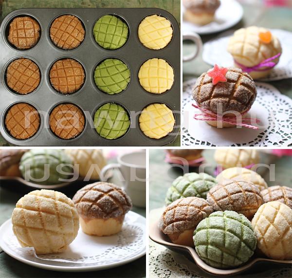 melon cupcake